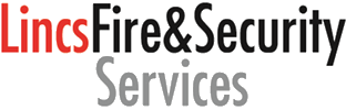 Fire and security alarm logo